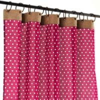 Dots Voil in Cotton - Rouge