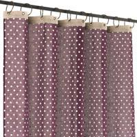 Dots Voil in Cotton - Cassis